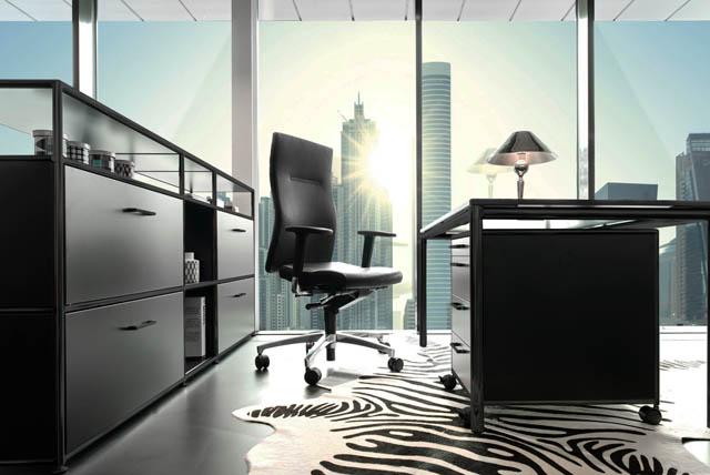 Büromöbel fürs Chefbüro
