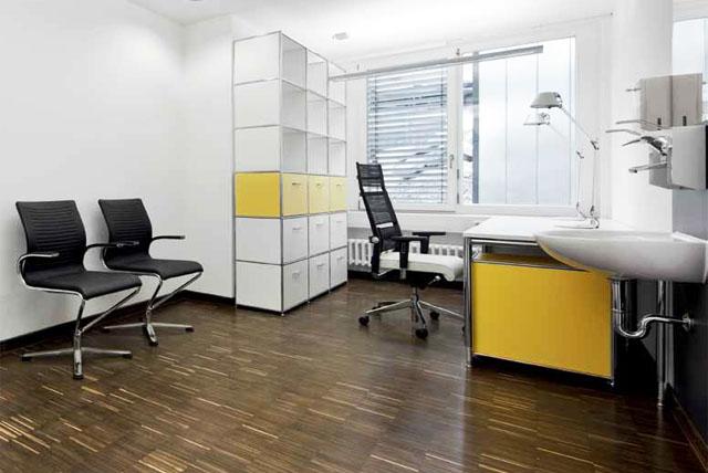Möbel von Bosse für Krankenhäuser