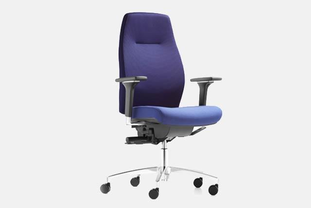 Bürostuhl mit bequemer Sitzfläche