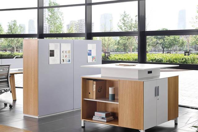 Kleine Büroschränke von Steelcase