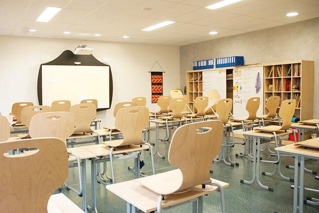 Schuleinrichtung und Ausstattung