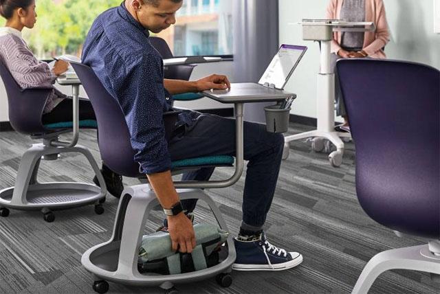 Ergonomische Stühle für Schulen, Universitäten und Fachhochschulen