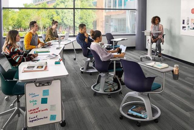 Klassenzimmer Möbel und Einrichtung