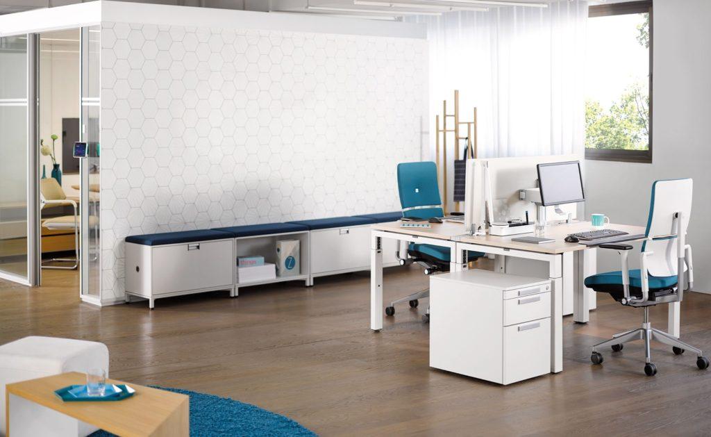 Stellcase Schreibtischcontainer